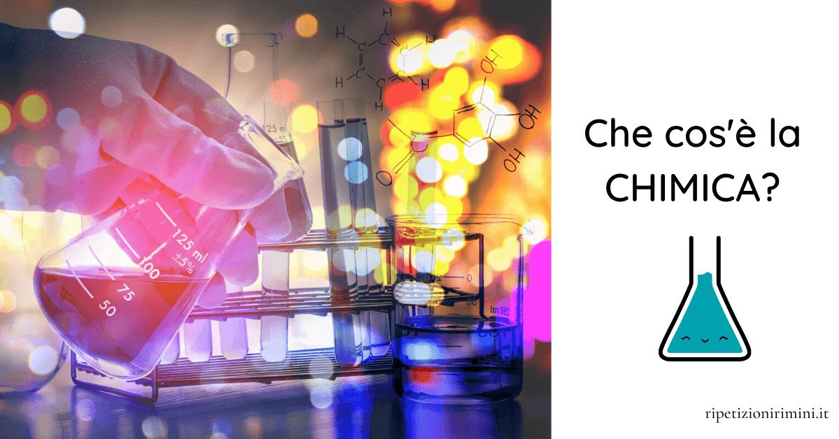 Cos'è la chimica