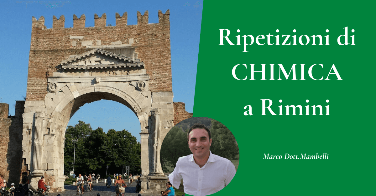 Ripetizioni di chimica a Rimini