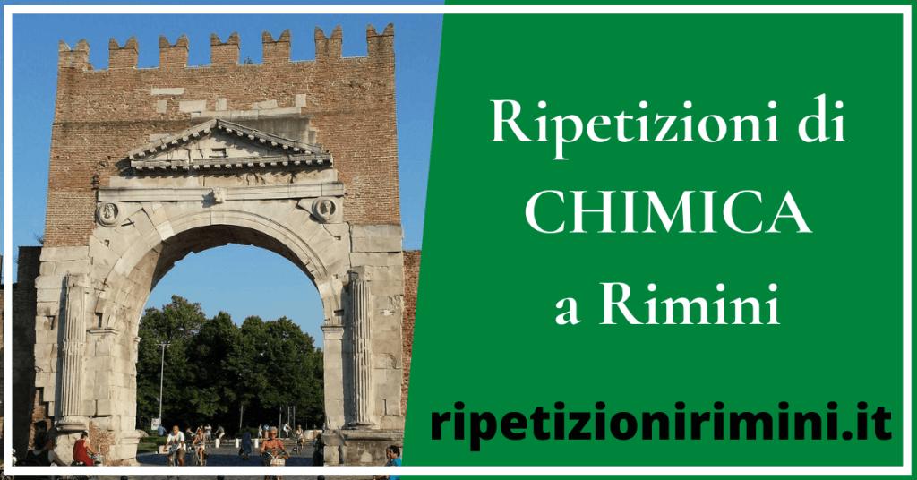 Ripetizioni chimica Rimini